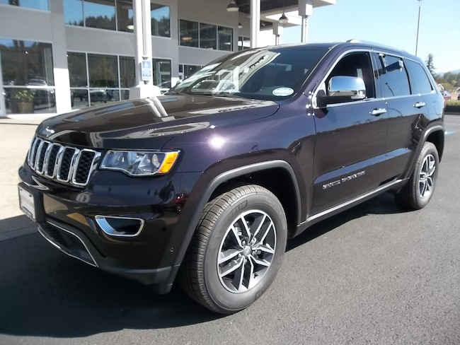 New 2018 Jeep Grand Cherokee LIMITED 4X4 Sport Utility Cottage Grove, OR