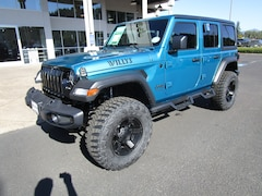 New 2020 Jeep Wrangler UNLIMITED WILLYS 4X4 Sport Utility LW293310 for Sale in Cottage Grove, OR