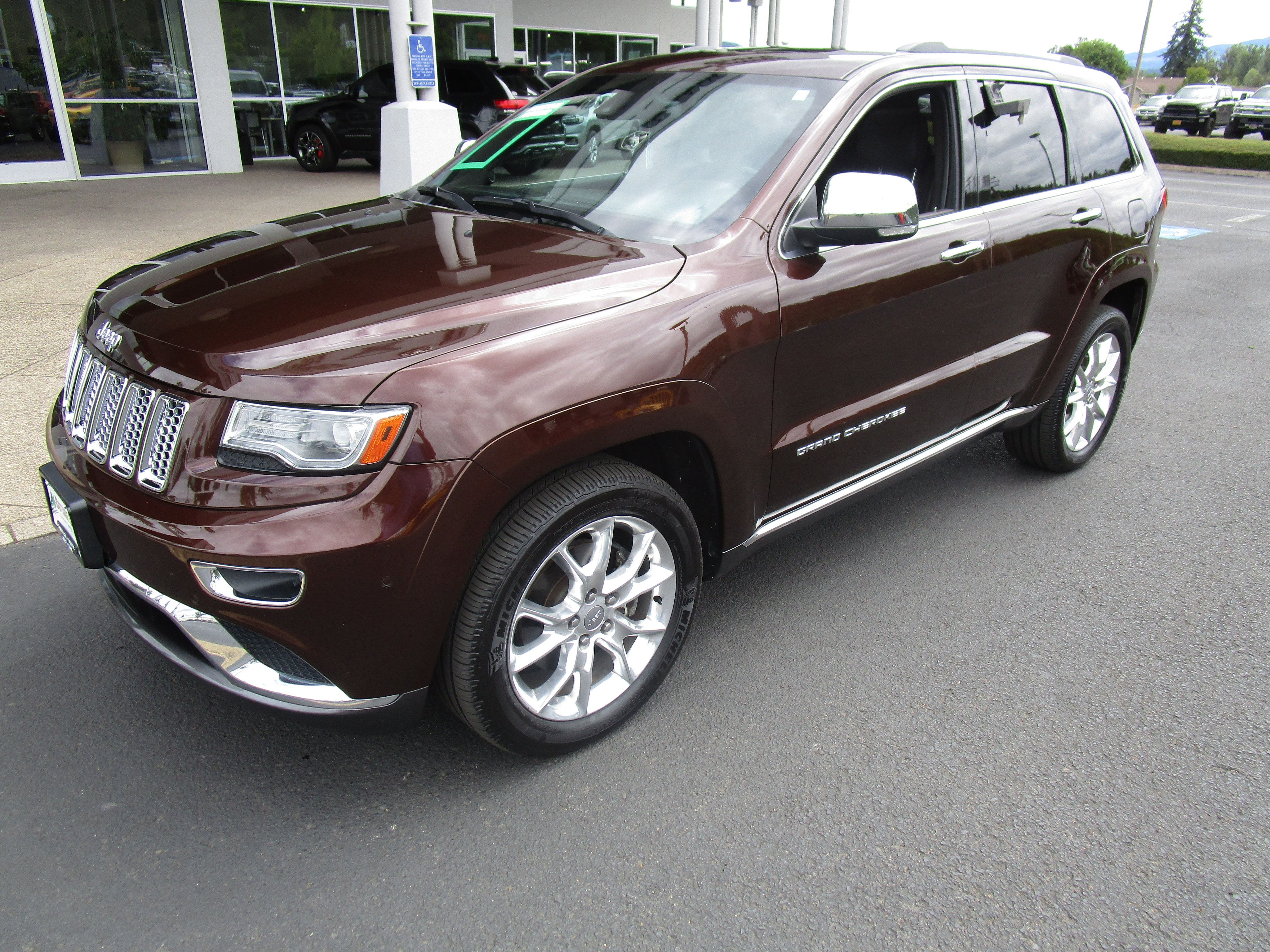 Used 2014 Jeep Grand Cherokee >> Used 2014 Jeep Grand Cherokee Summit 4x4 For Sale In Cottage Grove Or Near Springfield Or Vin 1c4rjfjmxec384948