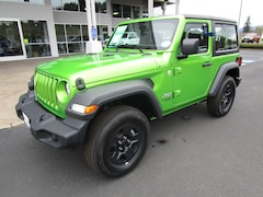 New 2018 Jeep Wrangler SPORT 4X4 Sport Utility 1C4GJXAN4JW326462 for Sale in Cottage Grove, OR