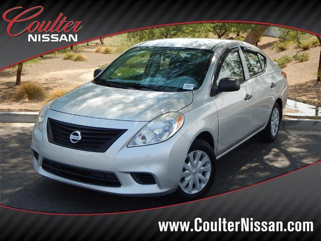 2014 Nissan Versa 1.6 S Plus Sedan