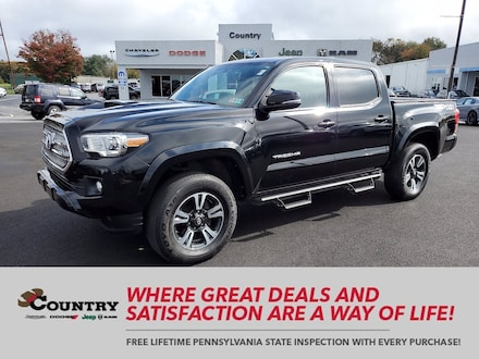 2017 Toyota Tacoma TRD Offroad TRD Pro Double Cab 5 Bed V6 4x4 AT