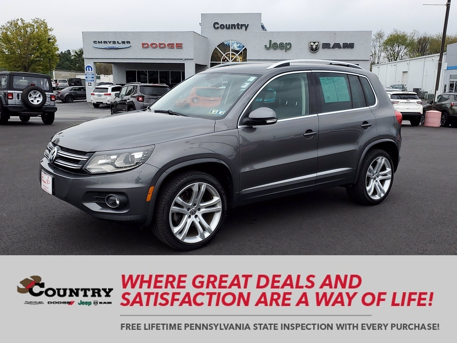 Used Volkswagen Tiguan Oxford Pa