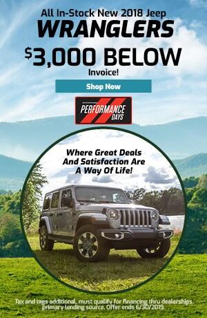 June 2018 Jeep Wrangler Special