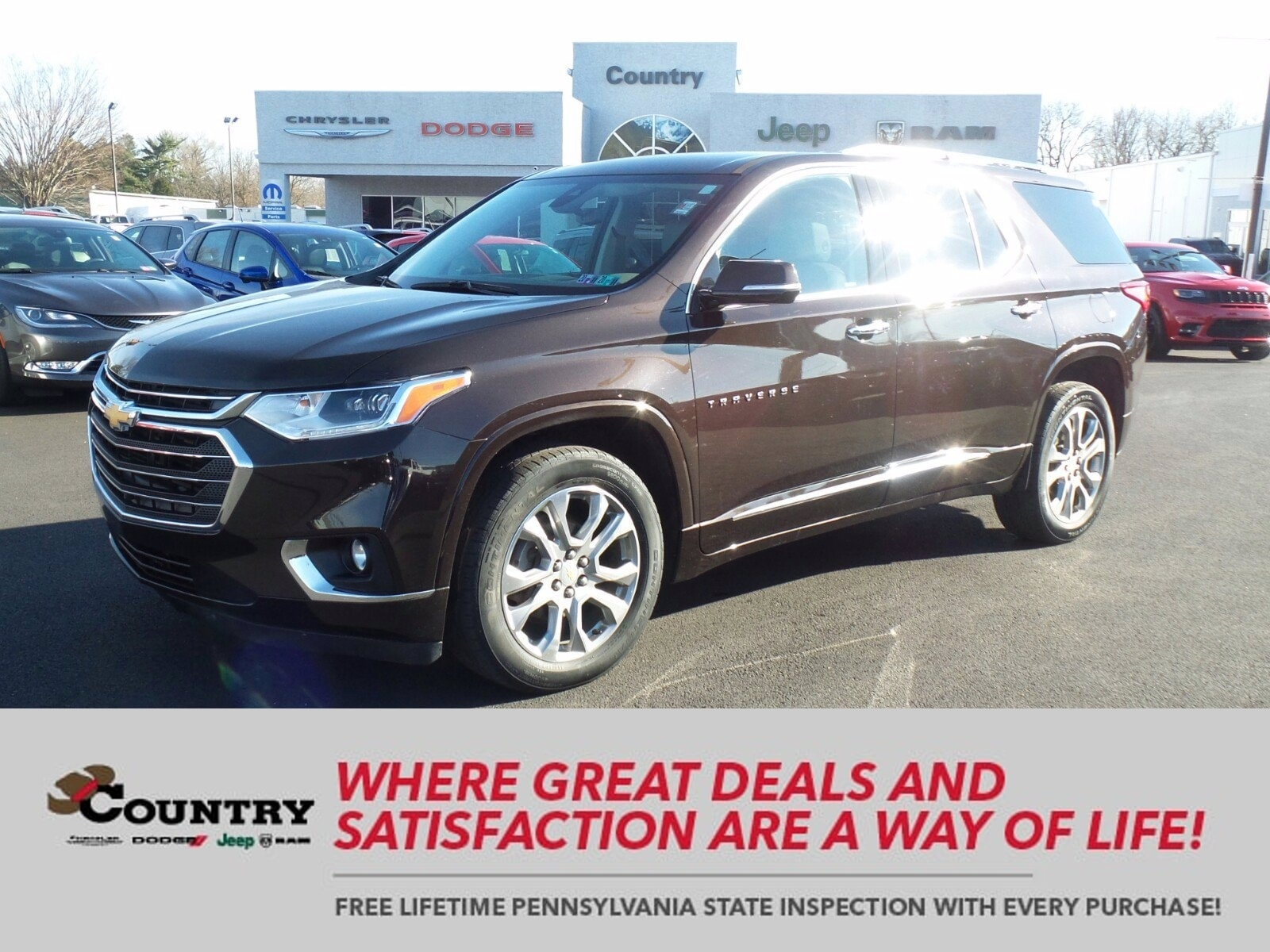 Used Chevrolet Traverse Oxford Pa