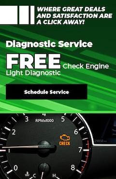 Free Diagnostic on Check Engine Light
