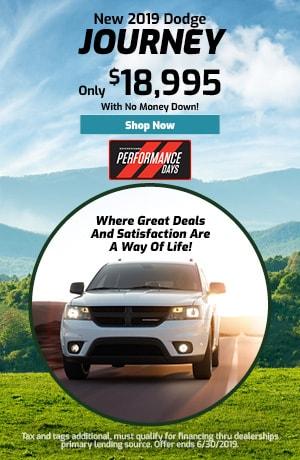June 2019 Dodge Journey Special