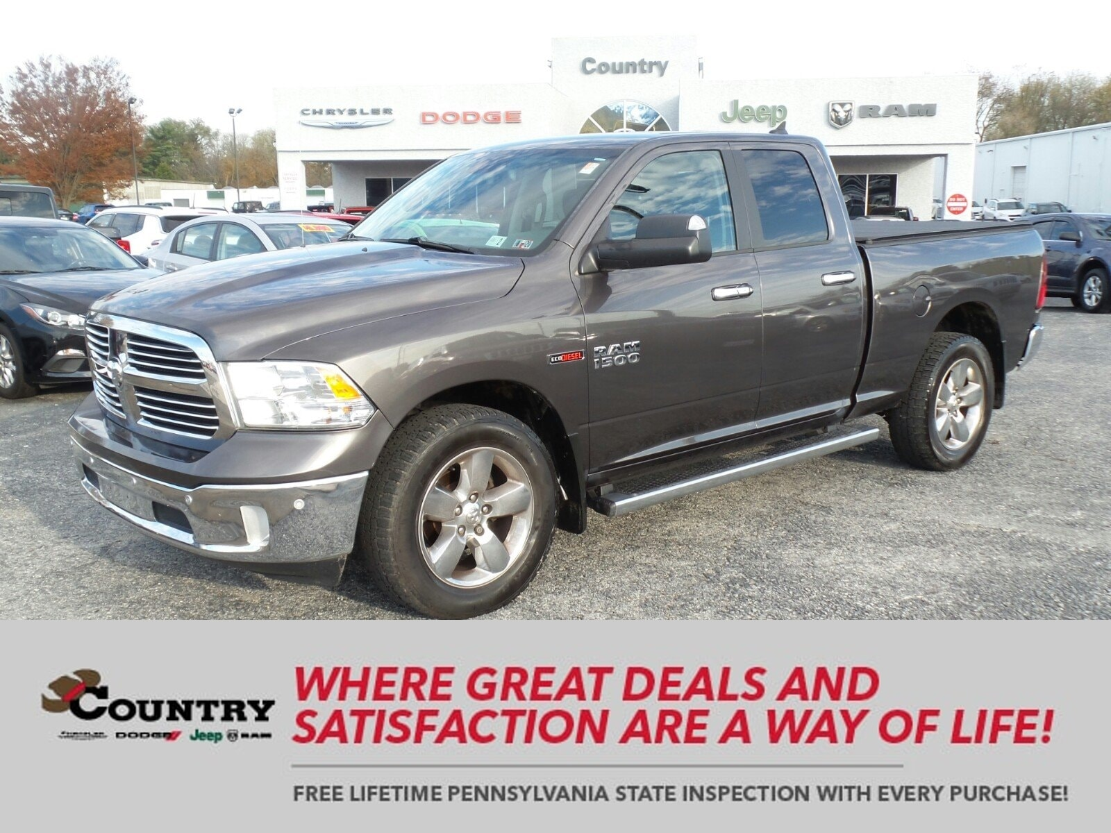 2014 Ram 1500 Big Horn 4WD Quad Cab 140.5 Big Horn