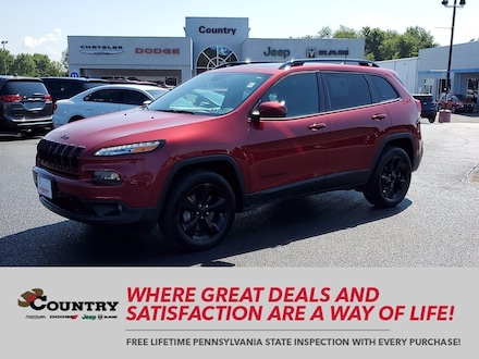 2017 Jeep Cherokee Limited High Altitude 4x4 *Ltd Avail*