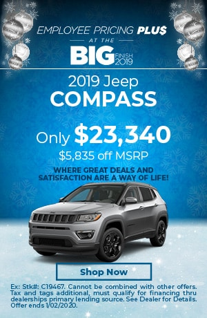 December | 2019 Jeep Compass | Special