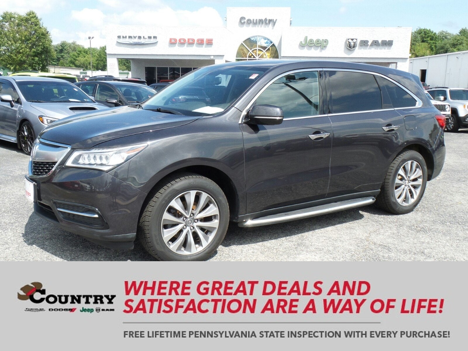 2015 Acura MDX 3.5L Technology Package SH-AWD  Tech Pkg