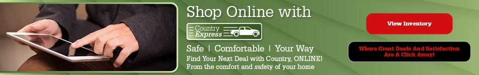 Shop Online with Country Express