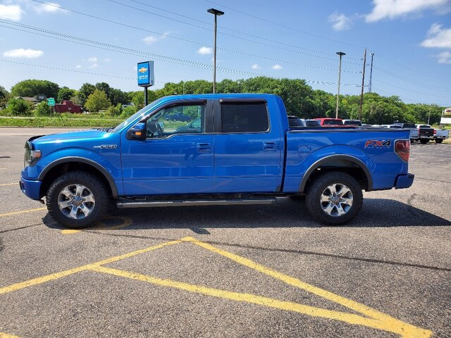 Used 2014 Ford F-150 FX4 with VIN 1FTFW1EF1EKD45299 for sale in Annandale, Minnesota