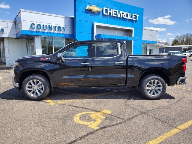 Used 2021 Chevrolet Silverado 1500 LTZ with VIN 1GCUYGED5MZ306580 for sale in Annandale, Minnesota