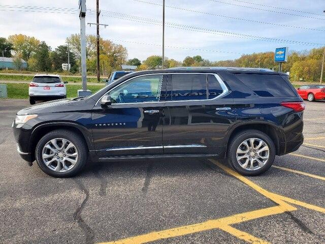 Used 2018 Chevrolet Traverse Premier with VIN 1GNEVJKW9JJ219220 for sale in Annandale, Minnesota