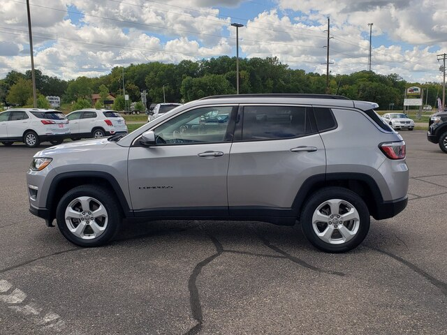 Used 2018 Jeep Compass Latitude with VIN 3C4NJDBB4JT314280 for sale in Annandale, Minnesota