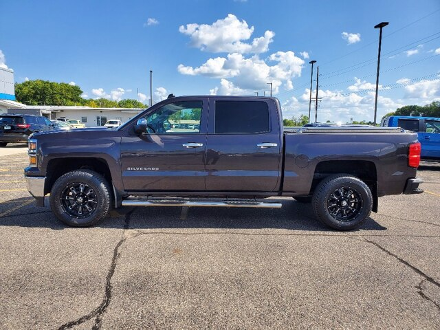 Used 2014 Chevrolet Silverado 1500 LT with VIN 3GCUKREC8EG406971 for sale in Annandale, Minnesota