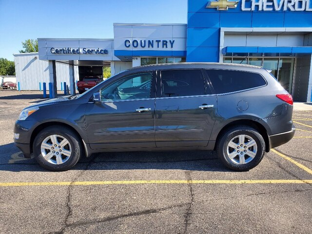 Used 2011 Chevrolet Traverse 1LT with VIN 1GNKVGED1BJ179832 for sale in Annandale, Minnesota