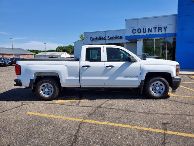 Used 2014 Chevrolet Silverado 1500 Work Truck 1WT with VIN 1GCRCPEH7EZ157257 for sale in Annandale, Minnesota