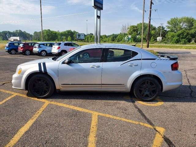 Used 2012 Dodge Avenger SE with VIN 1C3CDZAB3CN324058 for sale in Annandale, Minnesota