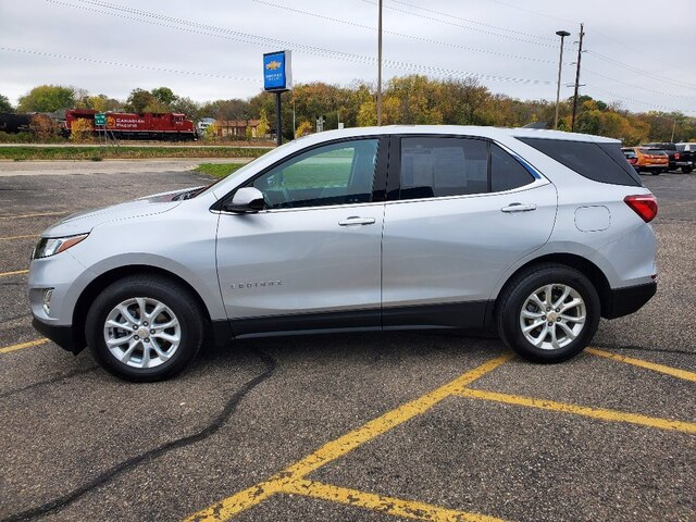 Certified 2019 Chevrolet Equinox LT with VIN 2GNAXUEV4K6156281 for sale in Annandale, Minnesota