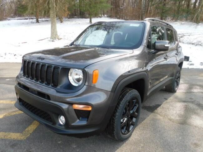 New 2019 Jeep Renegade ALTITUDE 4X4 Sport Utility For Sale Clarksburg, West Virginia