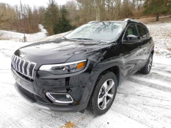 New 2019 Jeep Cherokee LIMITED 4X4 Sport Utility For Sale Clarksburg, West Virginia