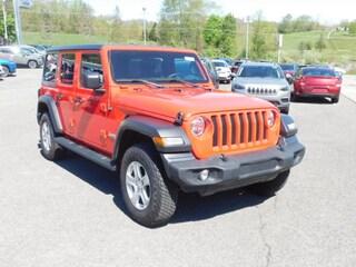 2020 Jeep Wrangler UNLIMITED SPORT S 4X4 Sport Utility in Clarksburg WV