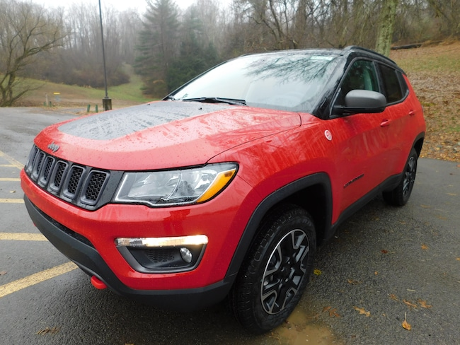 New 2019 Jeep Compass TRAILHAWK 4X4 Sport Utility For Sale Clarksburg, West Virginia