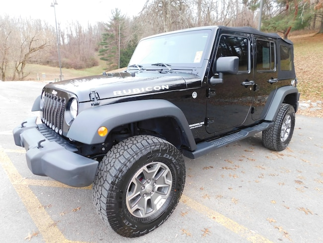Used 2016 Jeep Wrangler JK Unlimited Rubicon 4x4 SUV For Sale Clarksburg, West Virigina