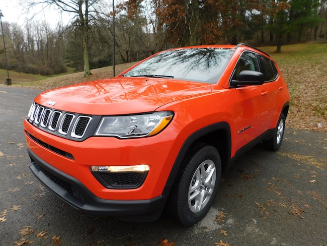New 2019 Jeep Compass SPORT 4X4 Sport Utility For Sale Clarksburg, West Virginia
