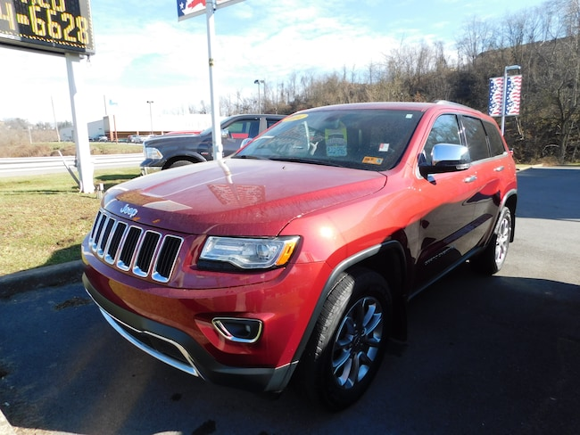 Used 2014 Jeep Grand Cherokee Limited 4x4 SUV For Sale Clarksburg, West Virigina