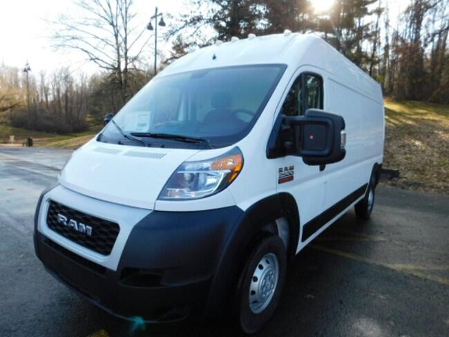 New 2019 Ram ProMaster 2500 CARGO VAN HIGH ROOF 159 WB Cargo Van For Sale Clarksburg, West Virginia