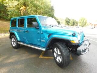 2020 Jeep Wrangler UNLIMITED SAHARA 4X4 Sport Utility in Clarksburg WV