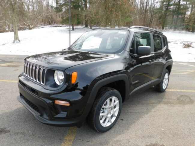 New 2019 Jeep Renegade SPORT 4X4 Sport Utility For Sale Clarksburg, West Virginia
