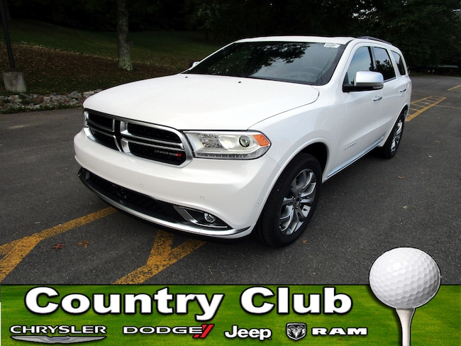New 2018 Dodge Durango CITADEL ANODIZED PLATINUM AWD Sport Utility For Sale Clarksburg, West Virginia