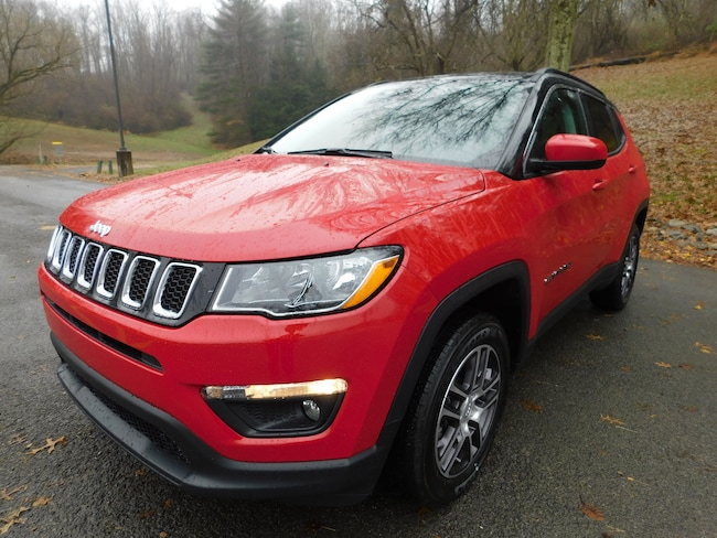 New 2019 Jeep Compass LATITUDE 4X4 Sport Utility For Sale Clarksburg, West Virginia