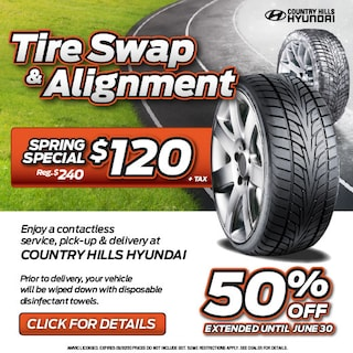 Tire Swap and Alignment