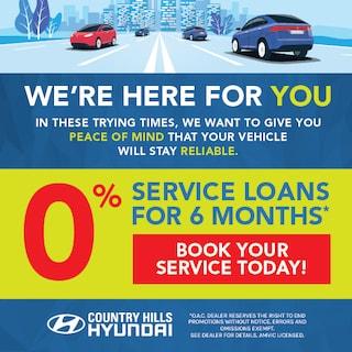 0% Service Loans