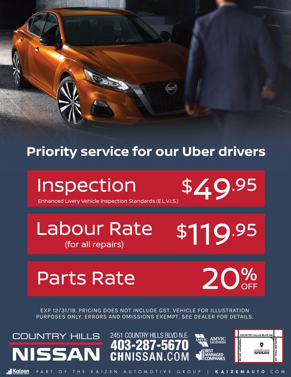 Priority Service for our Uber Drivers