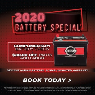 2020 Battery Special