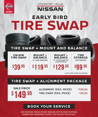 Early Bird Tire Swap