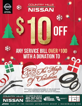 $10 Off Service Bills Over $100