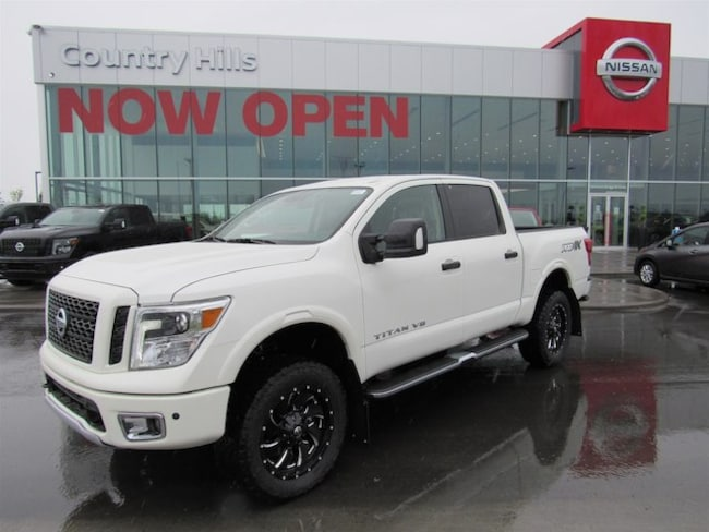 2018 Nissan Titan PRO-4X Lifted 4inch - Fuel Rims - Demo Savings Truck