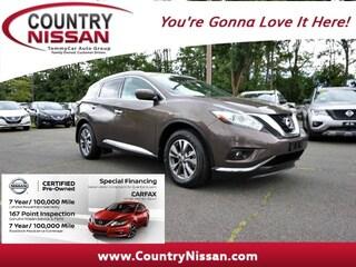 Used 2016 Nissan Murano SL SUV For Sale In Hadley, MA