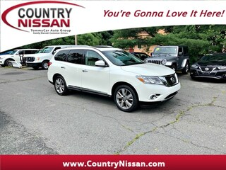 Used 2016 Nissan Pathfinder Platinum SUV For Sale In Hadley, MA