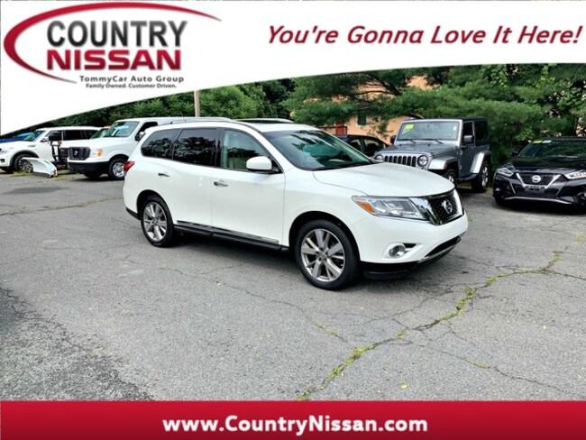 2016 Nissan Pathfinder Platinum SUV For Sale in Hadley, MA