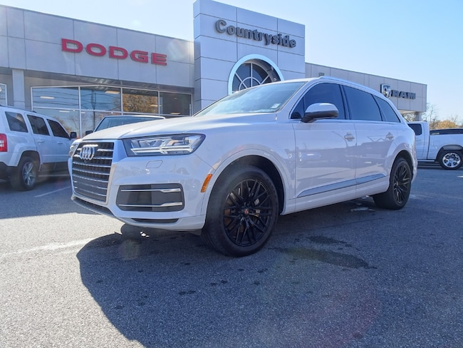 Used 2017 Audi Q7 3.0T Premium SUV for sale in Jackson, GA.