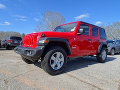 New 2019 Jeep Wrangler UNLIMITED SPORT S 4X4 Sport Utility For Sale in Jackson, GA
