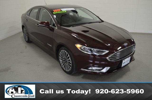 Used 2017 Ford Fusion Hybrid Titanium FWD For Sale in Columbus